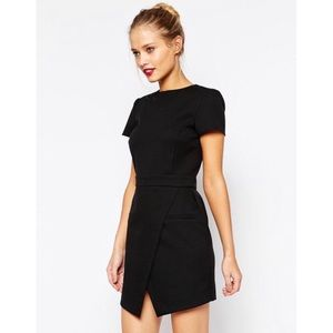 ASOS Cap Sleeve Black Dress
